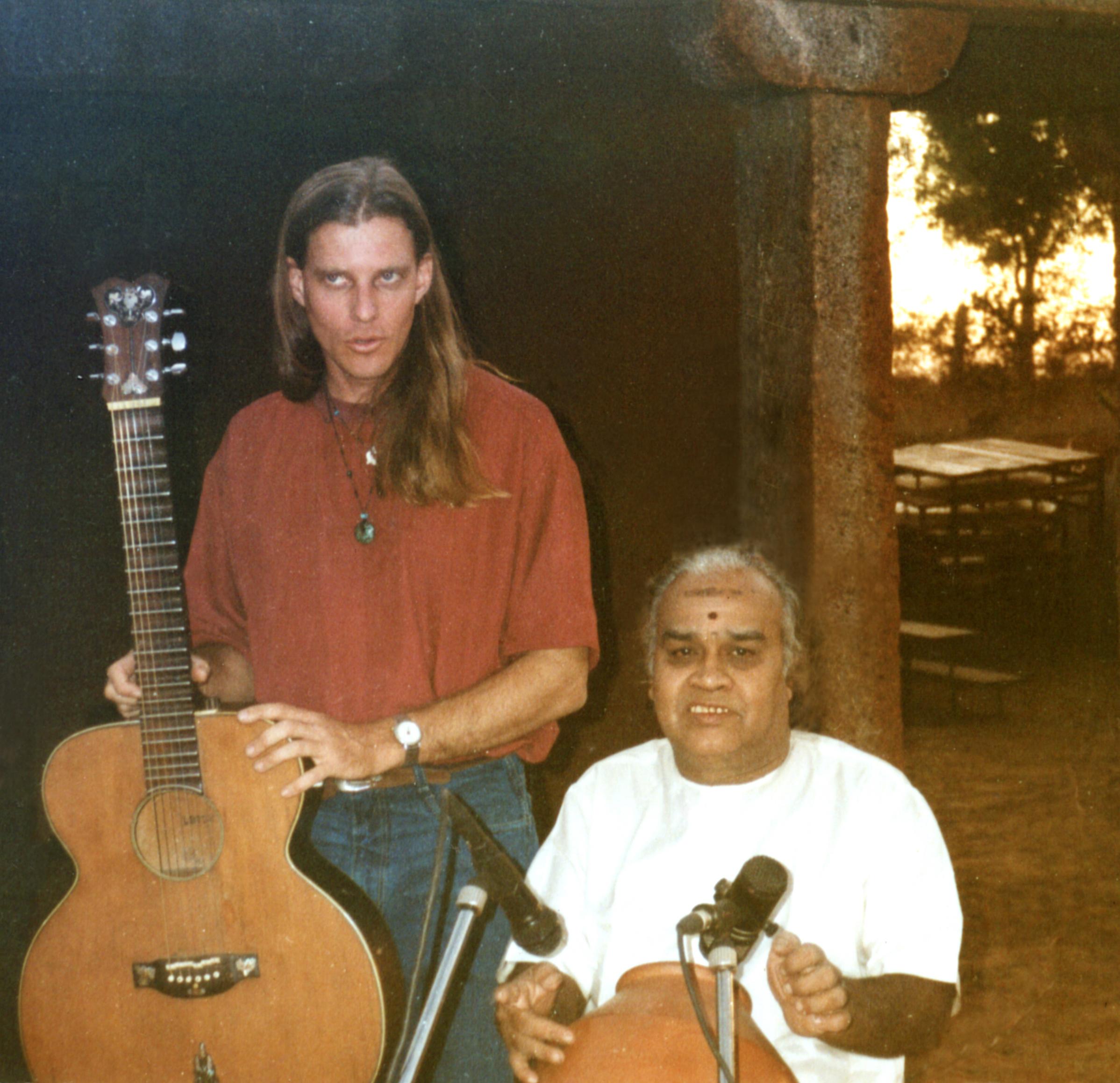 With Vikku Vinayakram