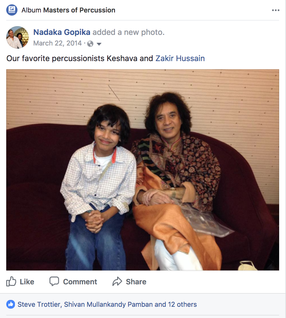 Keshava with Zakir Portland OR