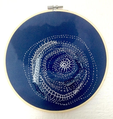 Embroidered Hoop (20cm)