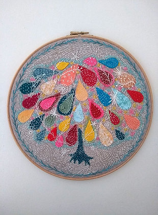 Embroidered Hoop (32cm)