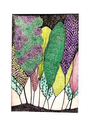 Treescape 3 (original drawing)