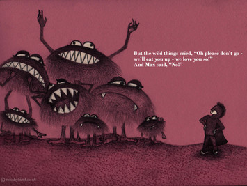 Illustration Challenge #1: Where the Wild Things Are