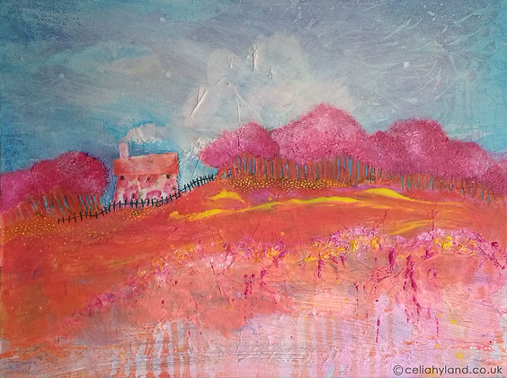 Blossom Cottage (original artwork)