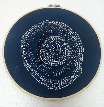 Embroidered Hoop (24cm)