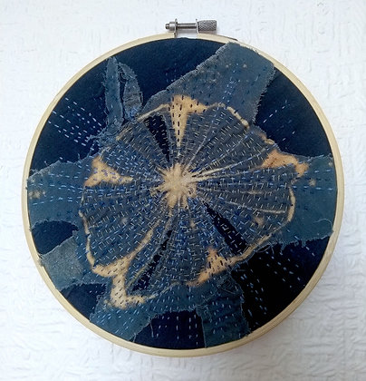 Embroidered Hoop (19cm)