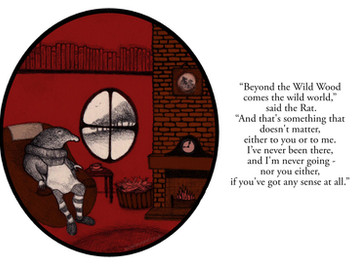 Illustration Challenge #2: The Wind in the Willows