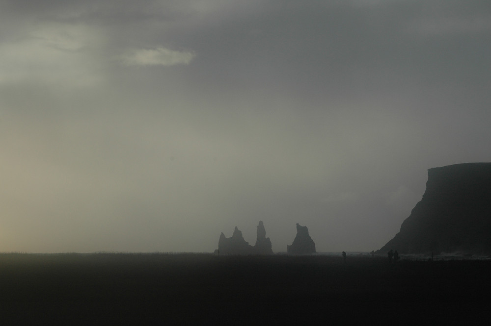 Vik rocks in Iceland