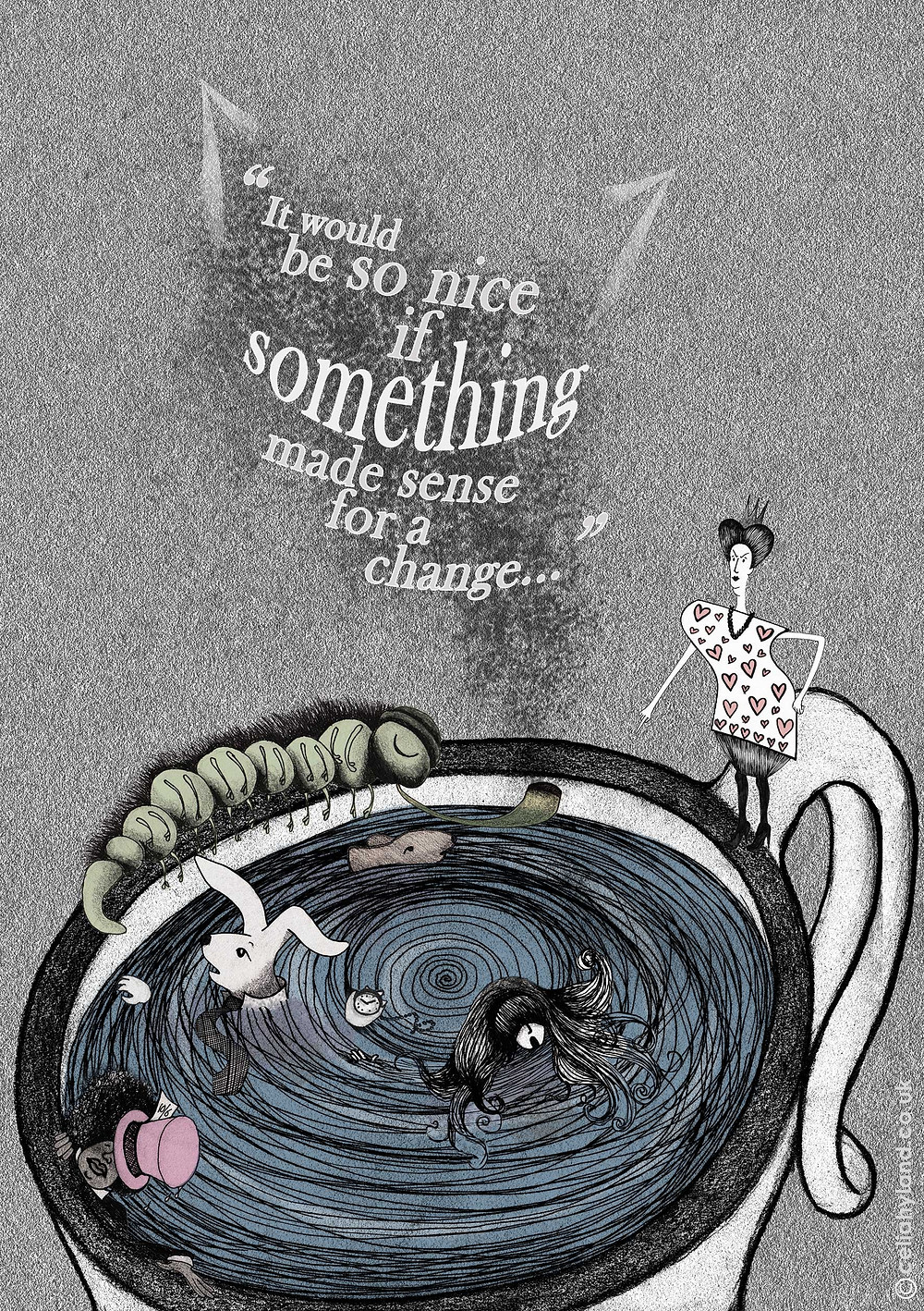 Alice in Wonderland illustrated by Celia Hyland
