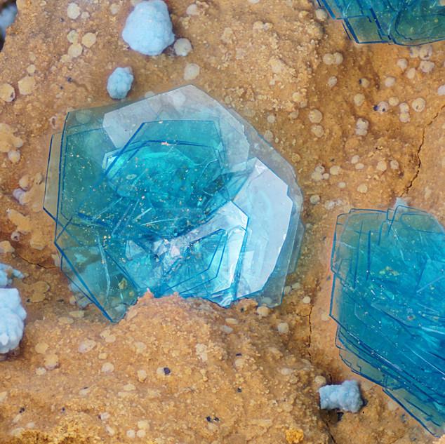 Chalophyllite - Salsigne - France
