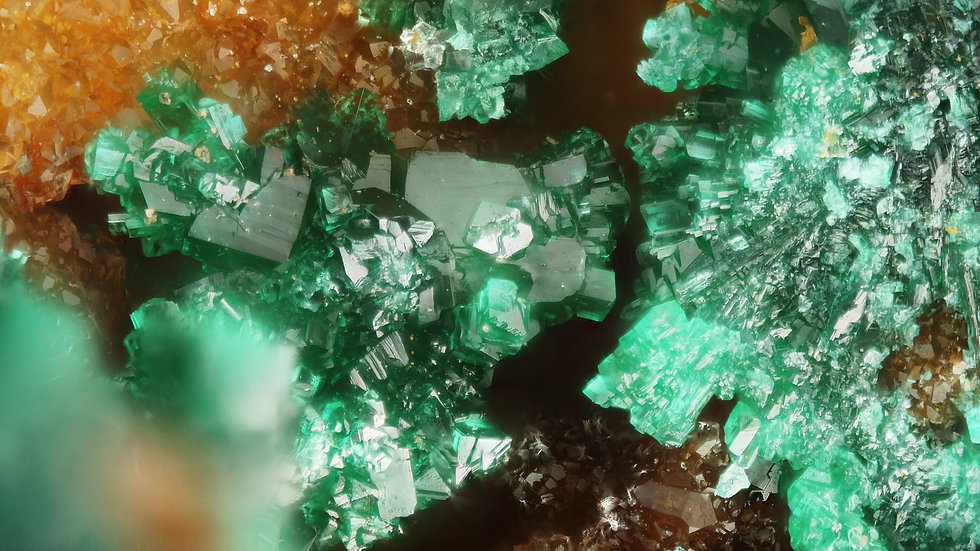 Brochantite - Virneberg Mine - Allemagne