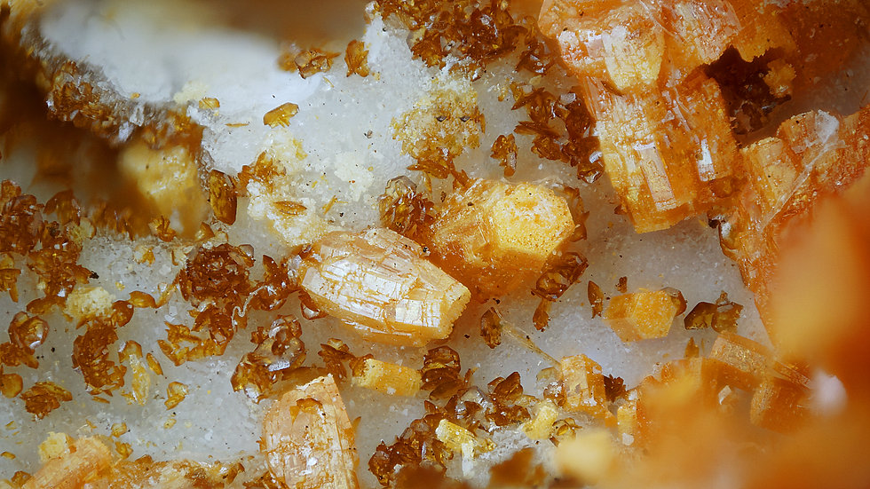 Vanadinite Descloizite - C&B Mine - USA