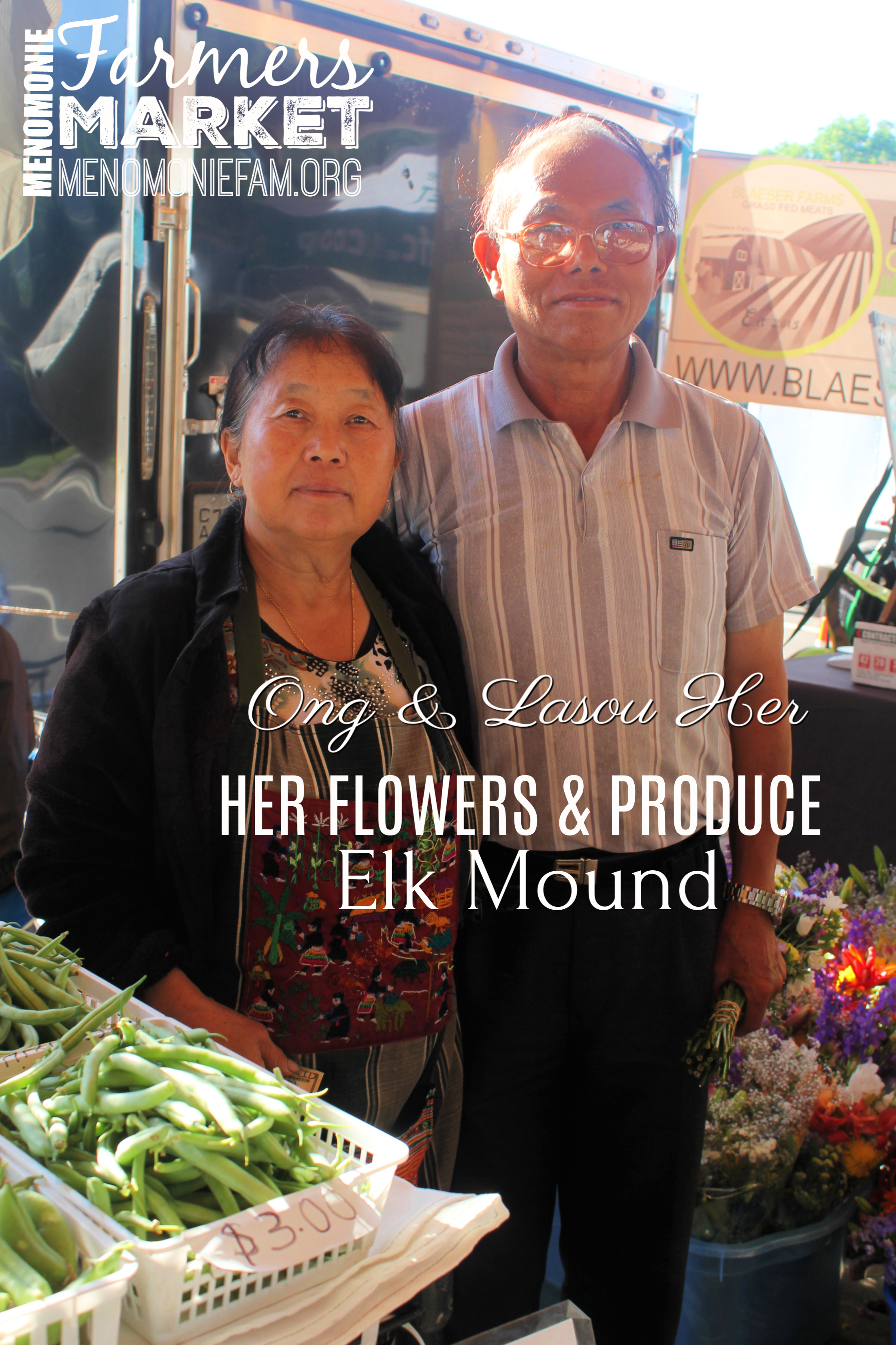 HER FLOWERS & PRODUCE