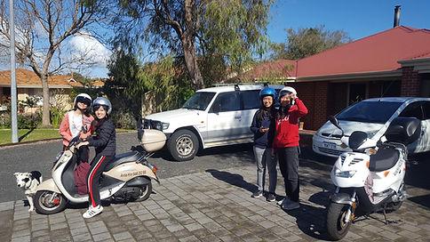 Avraa Scooter Hire tourists 03092013.jpg