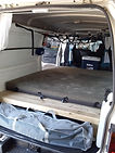 Avraa Camper Van Inside Rear View