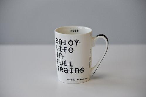 Tasse Enjoy Life in full Trains