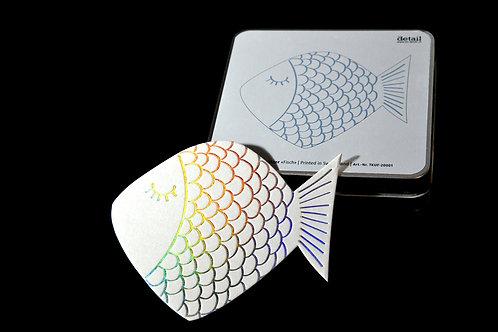 Glasuntersetzer Fisch