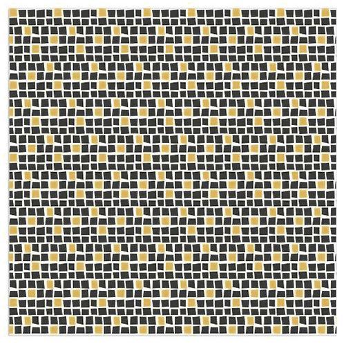Serviette Gold-Mosaik