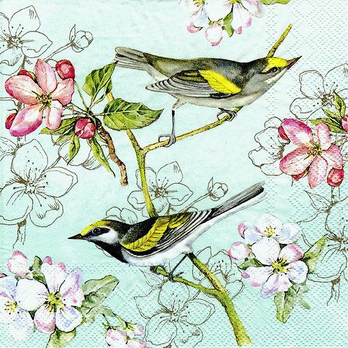 Serviette Birds Symphony
