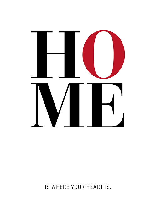 Poster «Home»