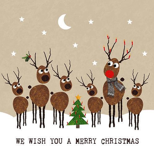 Serviette Christmas Wishes