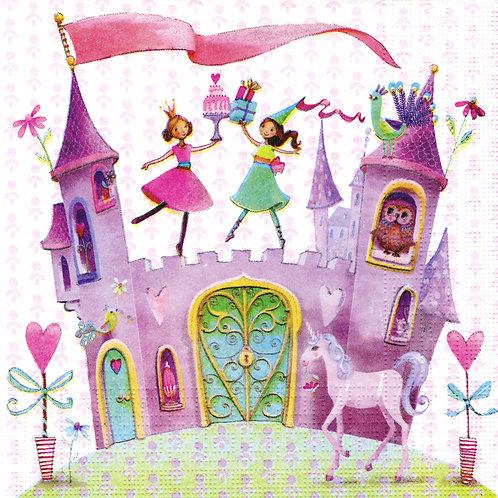 Serviette Princess Castle