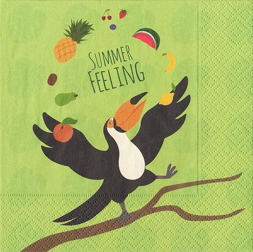 Serviette Summer Feeling