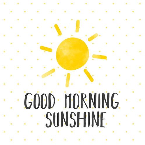 Serviette Good Morning Sunshine