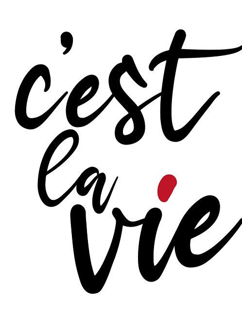 Poster «C'est la vie»