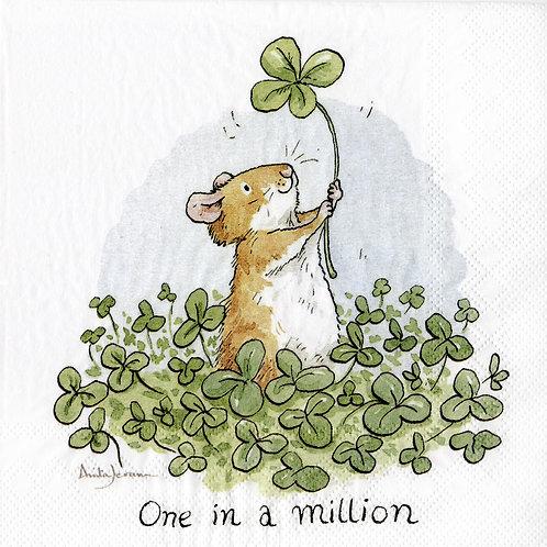 Serviette «One in a Million»