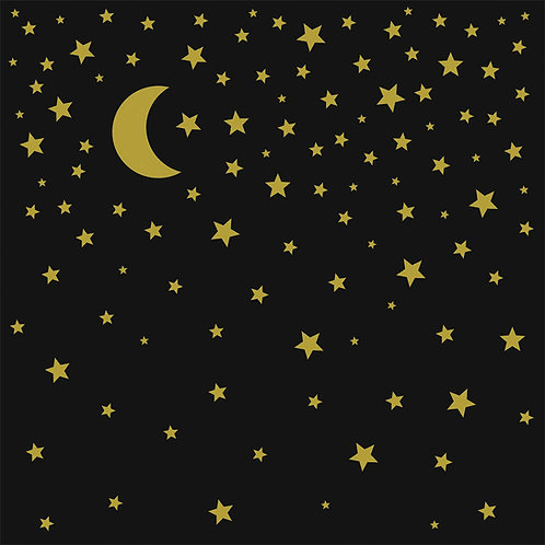 Cocktailserviette Nachthimmel