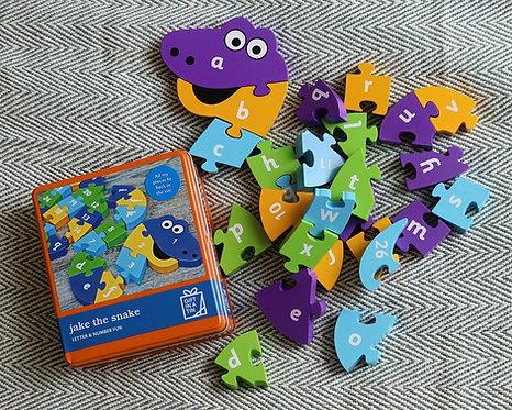 Jake the Snake Puzzle