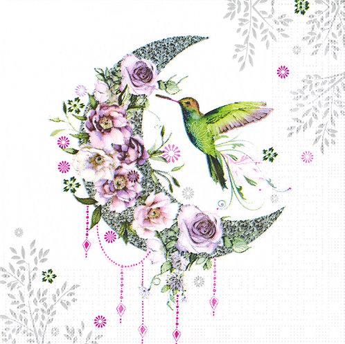 Serviette Hummingbird Moon