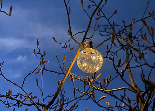 Solarlampe Leano