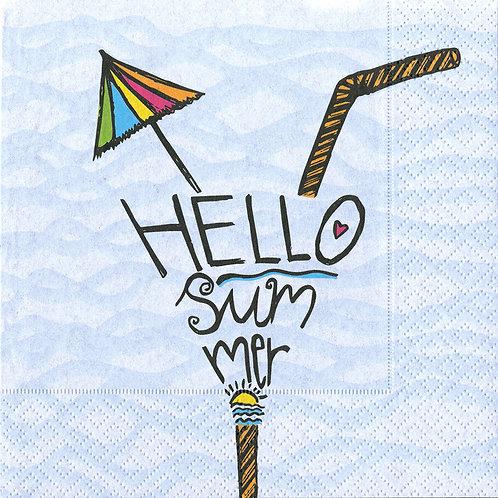 Serviette Hello Summer