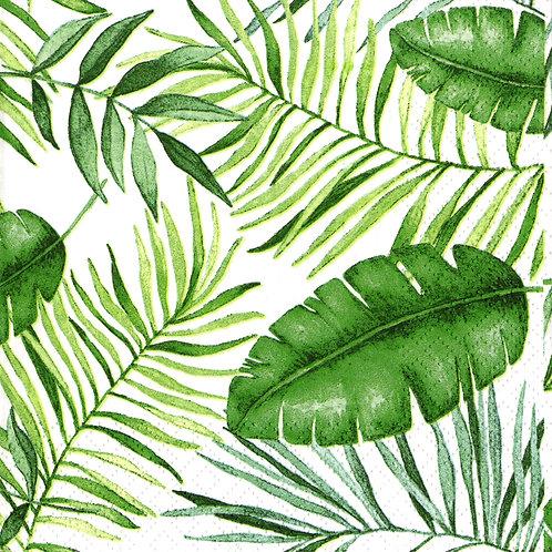Serviette Jungle Leaves