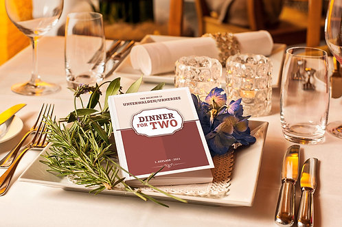 "Booklet ""Dinner for two"""