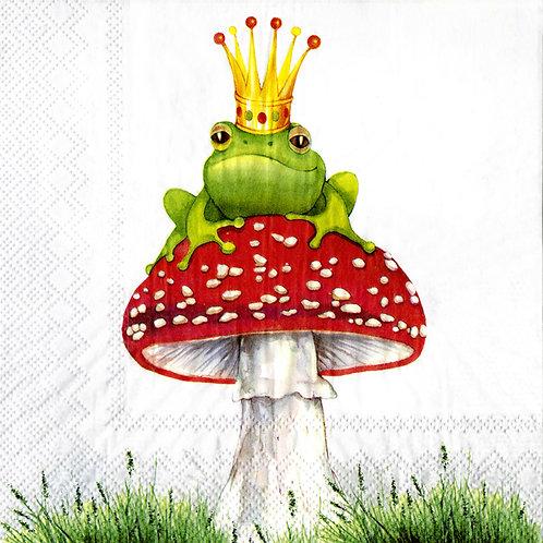 Serviette «Lucky Frog»
