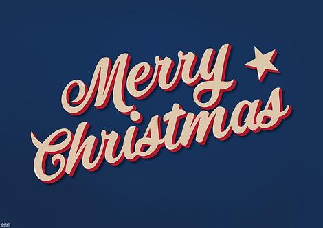 Tischset Merry Christmas