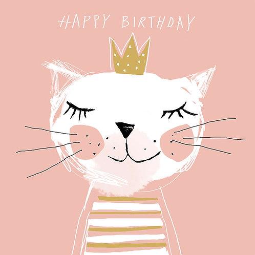 Serviette Happy Birthday Princess