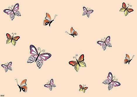 Papiertischsets Schmetterling FSC®-Mix