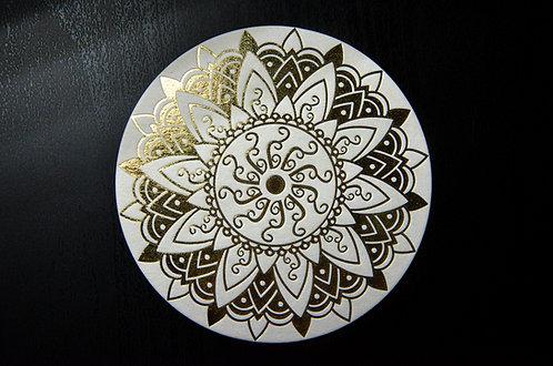 Glasuntersetzer orientalische Sonne