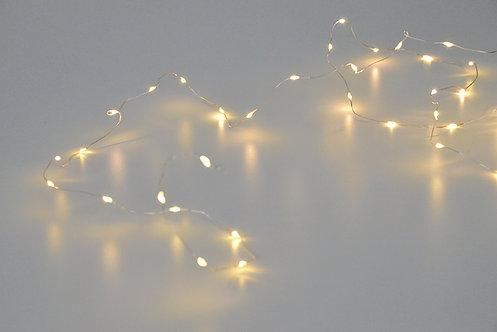 LED-Drahtlichterkette Faina