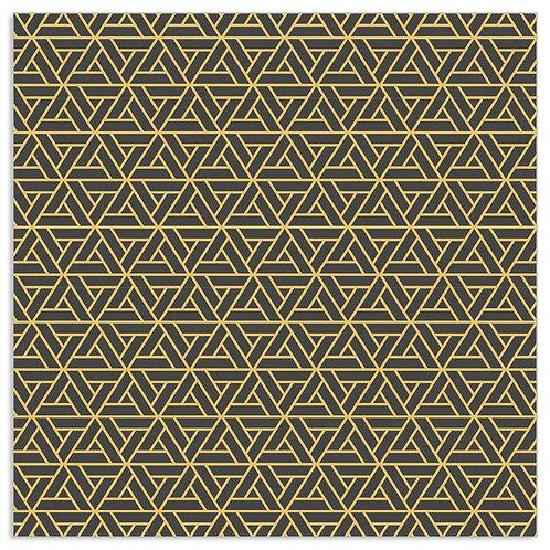 Serviette Geometrisches Muster