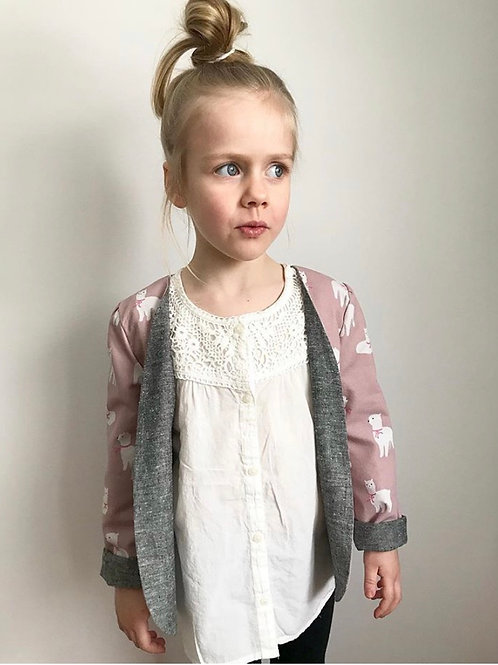 Alpaca Girl's Reversible Blazer