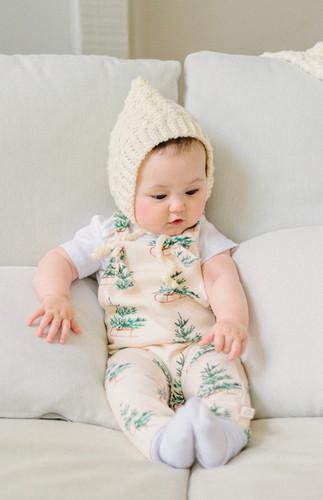 Organic Baby Knotteralls
