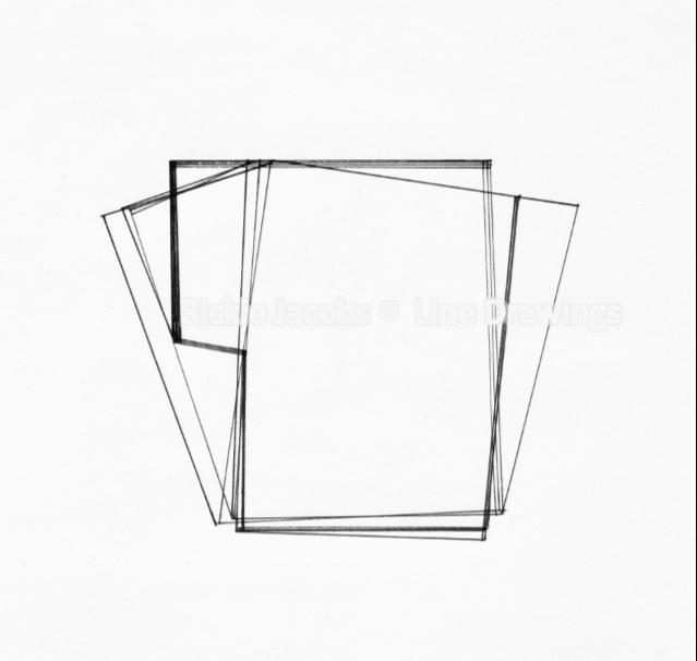 """Lines-10 (8.25x12"""")"""