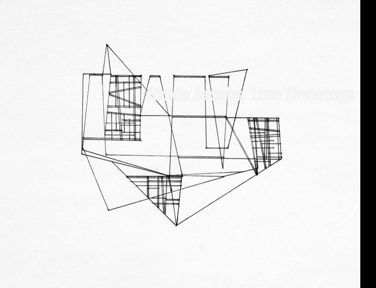 """Lines-54 (12x9"""")"""
