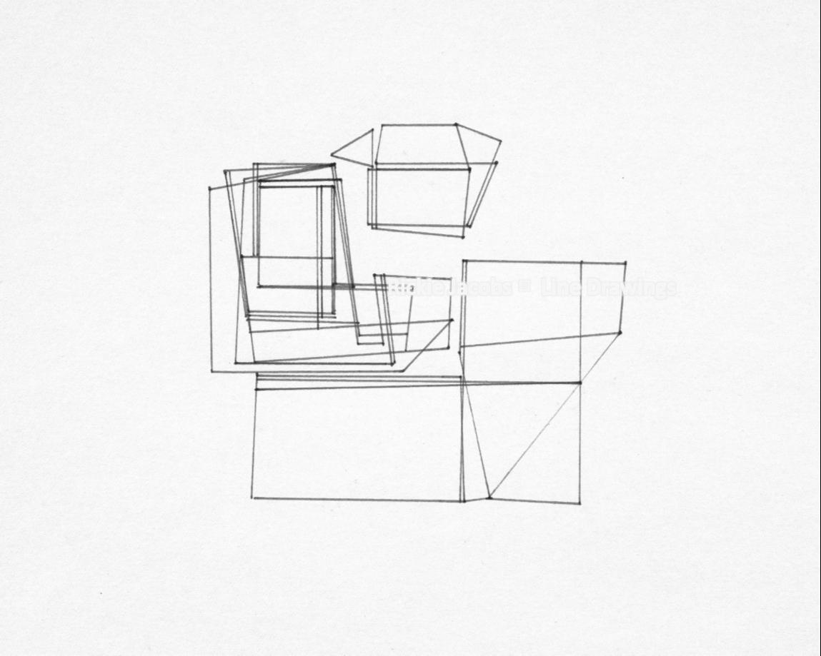 """Lines-42 (12x9"""")"""