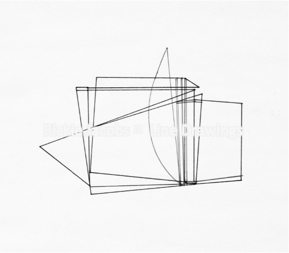 """Lines-09 (8.25x12"""")"""