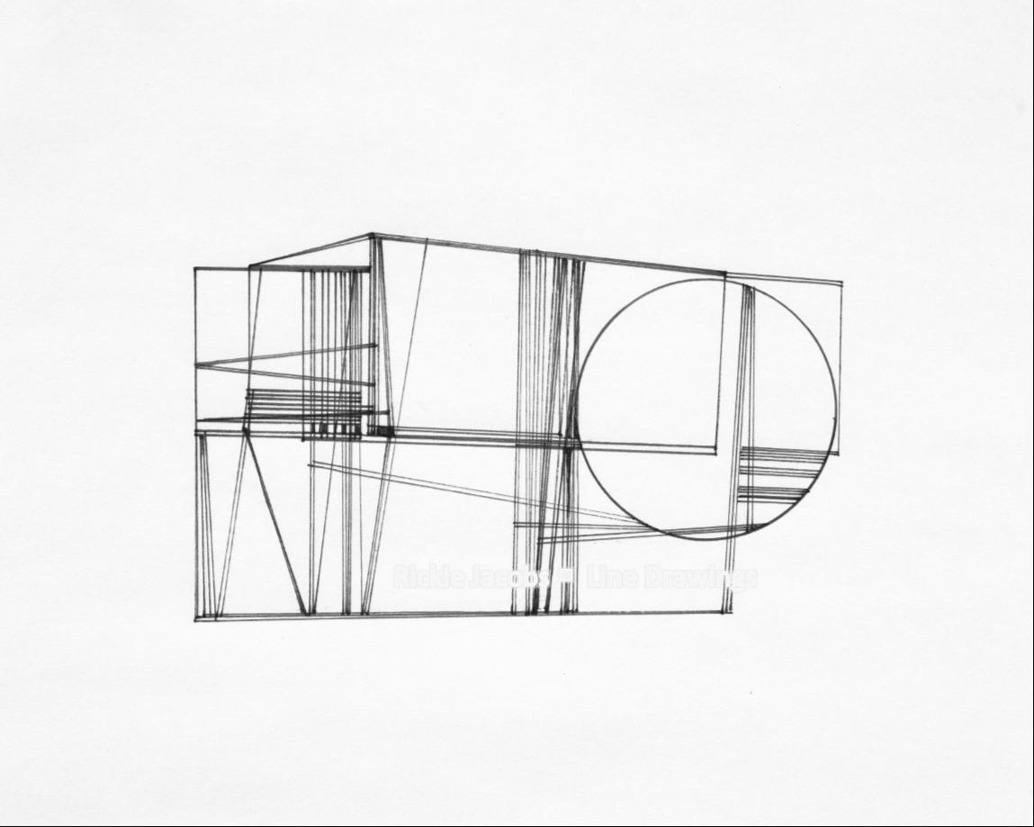 """Lines-20 (12x9"""")"""
